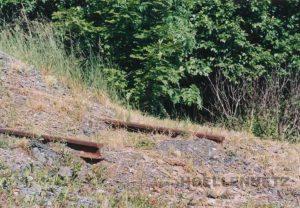 Gleisstumpf in Blankenstein