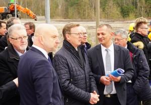 MP Ramelow im Gespräch mit Frank Stumpf, BGM Naila und stellv. Landrat LKR Hof