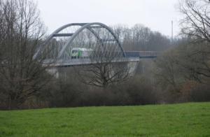 neue Brücke nach Strassberg